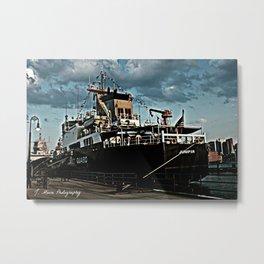 Coastguard Metal Print