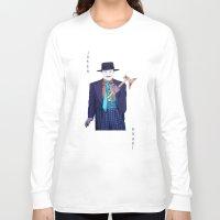 jack nicholson Long Sleeve T-shirts featuring Jack the Joker by Dano77
