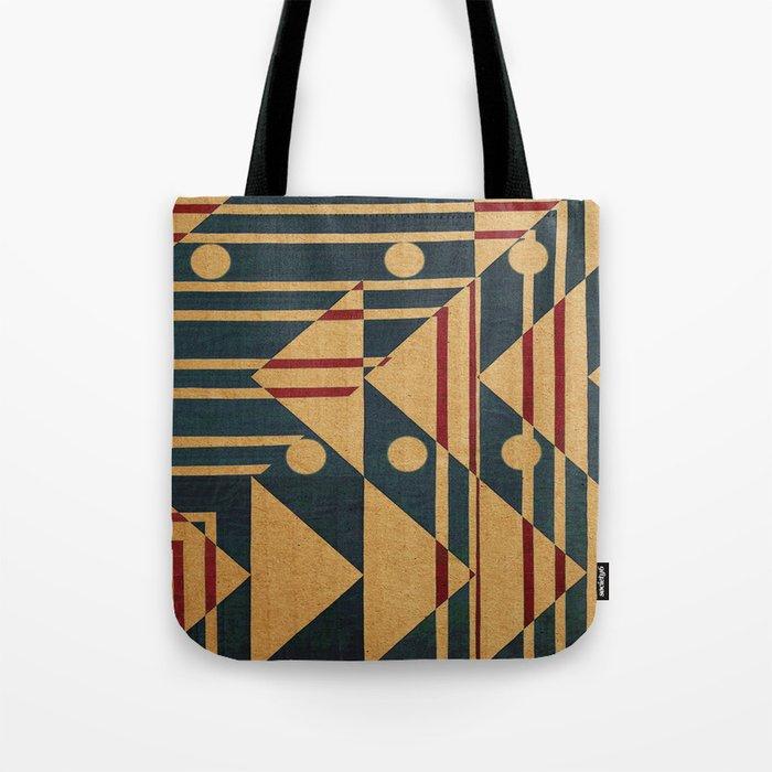 Birds in Row Tote Bag