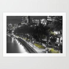 Travel: Flinders St Station Art Print