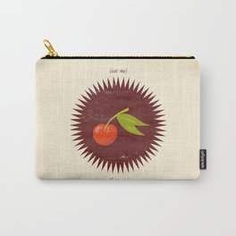 (eat me) CHERRY (hate me) Carry-All Pouch