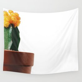 Pete The Cactus (Color) Wall Tapestry
