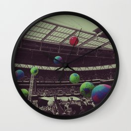 Coldplay at Wembley Wall Clock