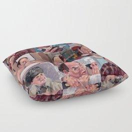 9 shades of Costanzas Floor Pillow
