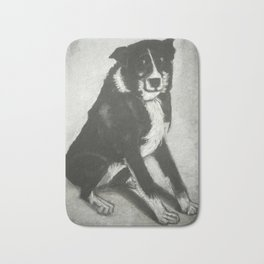 Skye the puppy Bath Mat