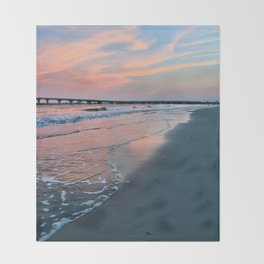 Shore Colors Throw Blanket