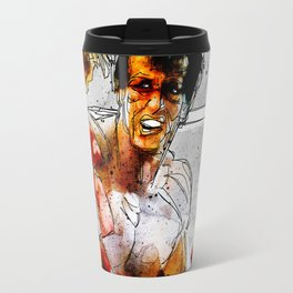 Boxing: Rocky Balboa vs Drago Travel Mug