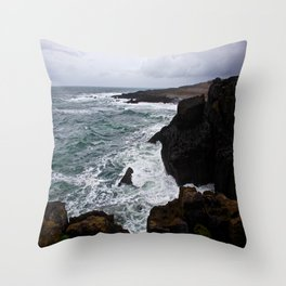 celtic sea Throw Pillow