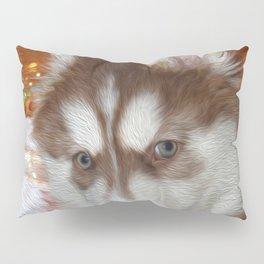 Husky Eyes Pillow Sham