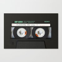 targaryen Canvas Prints featuring cassette classic mix by neutrone