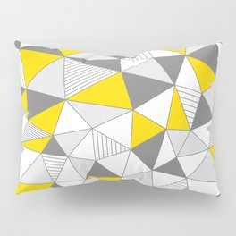 pattern-T Pillow Sham