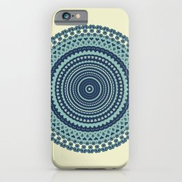 Great Wave Inspired Kaleidoscope Pattern-Japanese Ukiyo-e Style iPhone Case