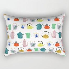 Tea Pots + Coffee Kettles Rectangular Pillow