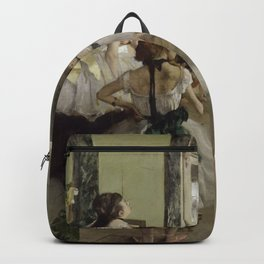 "Edgar Degas ""The Ballet Class"" Backpack"