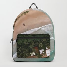 Tropical Summer Beach in The Philippines Backpack