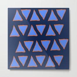 blue nachos Metal Print