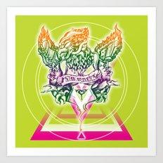 illusion Art Print