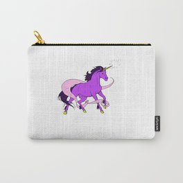 Magical Unicorn (Purple and Gold) Carry-All Pouch