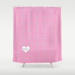 Japanese Kawaii Lolita - Tiny Heart Shower Curtain