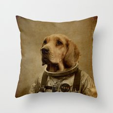 Discover space Throw Pillow
