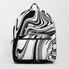 Stripes, distorted 3 Backpack