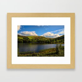 Dolymynach Reservoir, Rhayader Framed Art Print