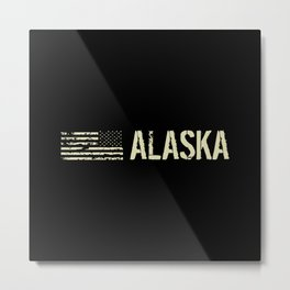 Black Flag: Alaska Metal Print