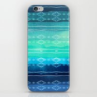 aelwen iPhone & iPod Skins featuring ocean by spinL
