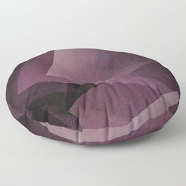 Posh Pink - Digital Geometric Texture Floor Pillow