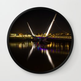 Derry Peace Bridge Wall Clock