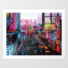 Sweet City Kunstdrucke