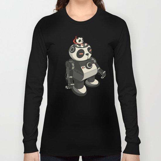 Mecha-Panda Long Sleeve T-shirt