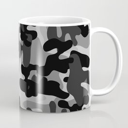 Camouflage (Gray) Coffee Mug