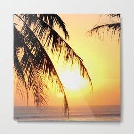 Bali Sunset 2 Metal Print