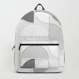 Mid Century Modern /// Sliced Circles Backpack