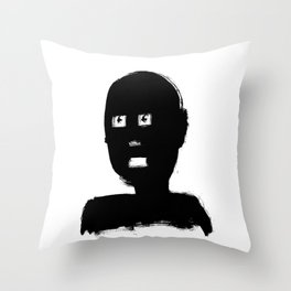 Iconicman Throw Pillow