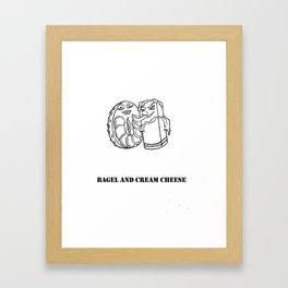 """""""Made for Each Other"""" Framed Art Print"""