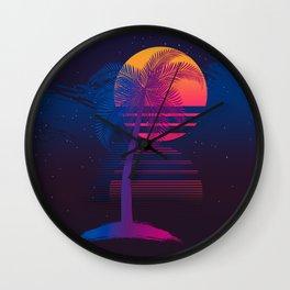 Sunset Dreams Wall Clock