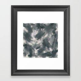 Dark misty look Framed Art Print