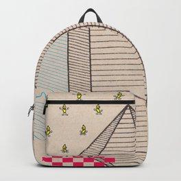 Fig 5. Primary Prism Banana Backpack