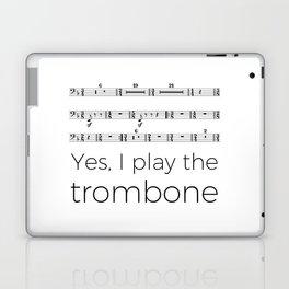 I play the trombone Laptop & iPad Skin