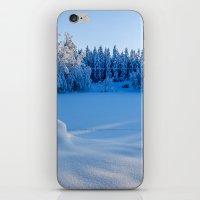 swedish iPhone & iPod Skins featuring Swedish Winter by Mark W