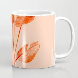 Coral Banana Plant Coffee Mug