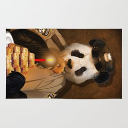 Police Panda Rug