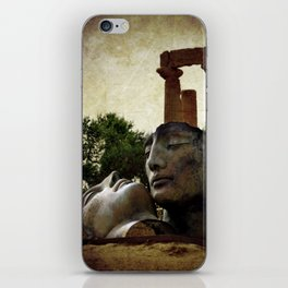 'Hermanos' in The Valley of The Temples iPhone Skin