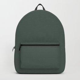 Belly Rub ~ Hooker's Green Backpack