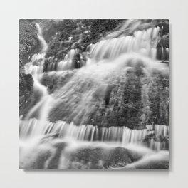 Wild waters. Mountain waterfall. Sierra Nevada Metal Print