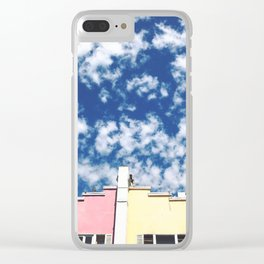 Pastel Appeal Clear iPhone Case