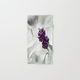Purple Berries  Hand & Bath Towel
