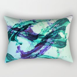 Vaporwave Style Abstraction Rectangular Pillow